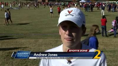 North Hall's Andrew Jones: Montlick & Associates Athlete fo the Week