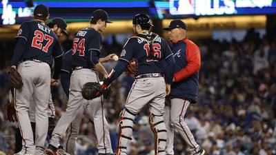 Braves unable to close out Dodgers, NLCS shifts back to Atlanta