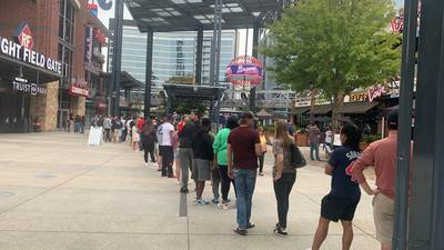 Businesses stocking up before World Series takes over Atlanta