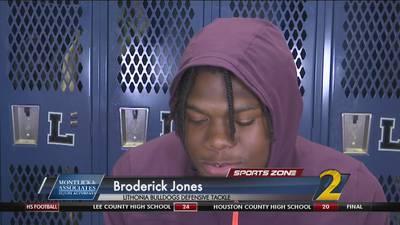 Lithonia's Broderick Jones: Montlick & Associates Athlete of the Week
