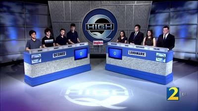 Oconee vs Landmark Season 34 High Q 20-25