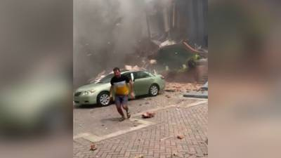 Woman says she was knocked unconscious by explosion at Dunwoody apartment complex
