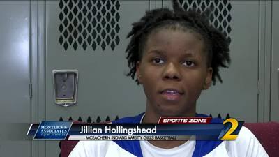 McEachern's Jillian Hollingshead: Montlick & Associates Athlete of the Week