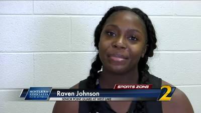 Westlake's Raven Johnson: Montlick & Associates Athlete of the Week