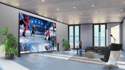 LG introduces massive television to bring theater setting home