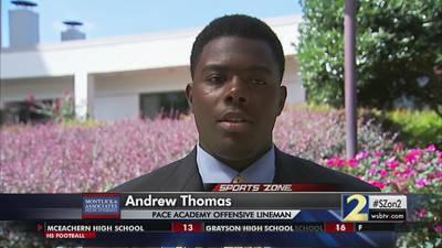 Andrew Thomas-Montlick & Associates Athlete of the Week