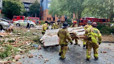 Fire officials finish onsite investigation into what caused apartment building to explode