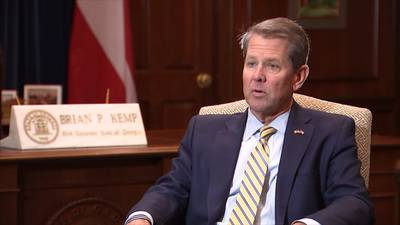 Gov. Kemp takes Braves NLCS win as opportunity to criticize MLB, Stacey Abrams