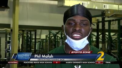 Grayson's Phil Mafah: Montlick & Associates Athlete of the Week
