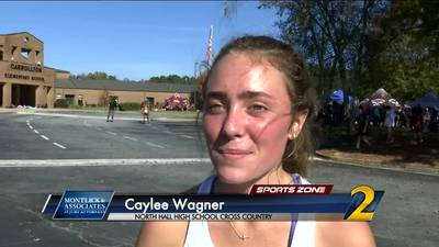 North Hall's Caylee Wagner: Montlick & Associates Athlete of the Week