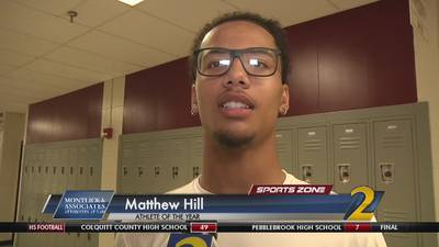 Brookwood's Matthew Hill: Montlick & Associates 2017 Athlete of the Year