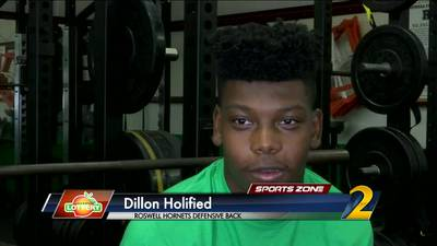 Roswell's Dillon Holifield: Georgia Lottery Scholar Athlete