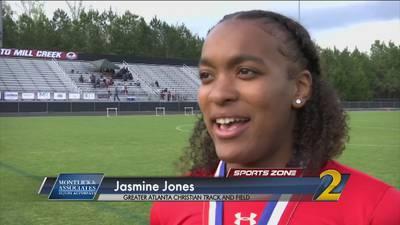 GAC's Jasmine Jones: Montlick & Associates Athlete of the Week