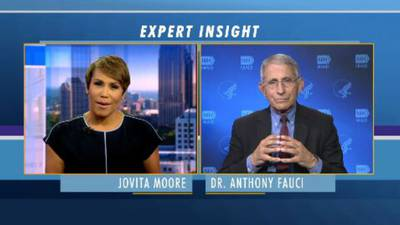 Channel 2 Anchor Jovita Moore talks 1-on-1 with Dr. Anthony Fauci about coronavirus in Georgia