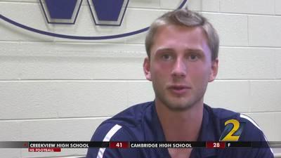 West Forsyth's Bryce Jones: Georgia Lottery Scholar Athlete