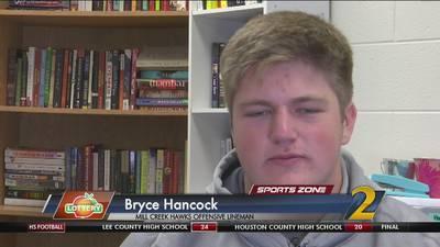 Mill Creek's Bryce Hancock: Georgia Lottery Scholar Athlete