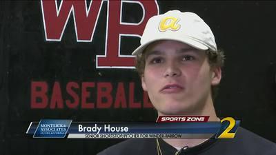 Winder Barrow's Brady House: Montlick & Associates Athlete of the Week