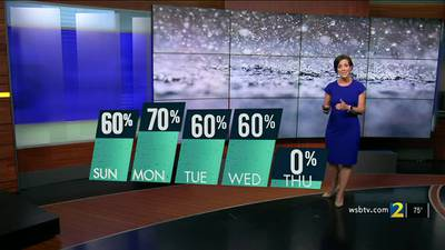 More rain moving in throughout the next several days