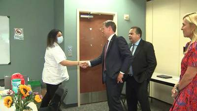 Gov. Kemp, state health leaders preparing for heavy full season with potential COVID-19 variant