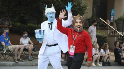PHOTOS: Costumed characters fill Dragon Con Parade, conventions downtown