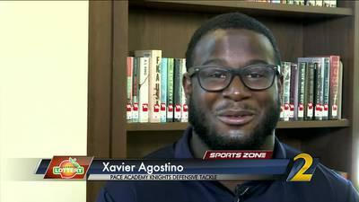 Pace Academy's Xavier Agostino: Georgia Lottery Scholar Athlete