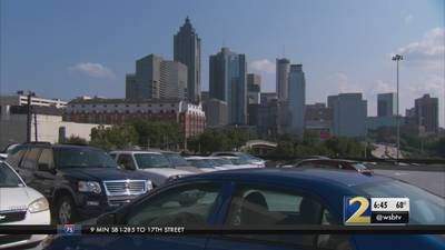 What does metro Atlanta's record population growth mean for traffic?