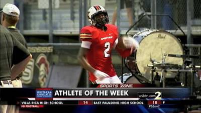 Darius Slayton-Montlick & Associate Athlete of the Week
