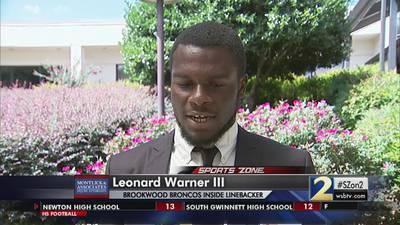 Brookwood's Leonard Warner III: Montlick & Associates Athlete of the Week