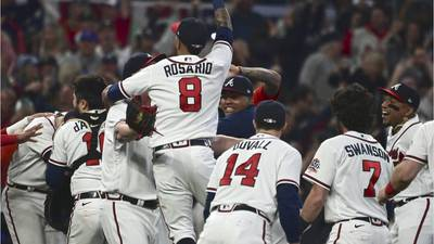 Braves top Dodgers, head to World Series