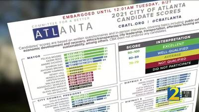 Group hopes to educate voters ahead of Atlanta mayoral race