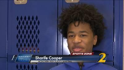 McEachern's Sharife Cooper: Montlick & Associates Athlete of the Week