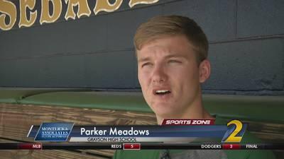 Grayson's Parker Meadows: Montlick & Associates Athlete of the Week
