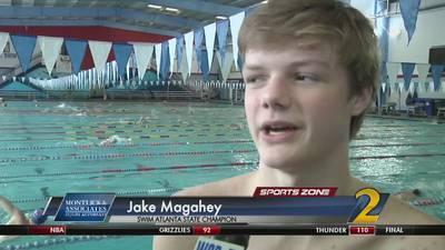 Swim Atlanta's Jake Magahey: Montlick & Associates Athlete of the Week