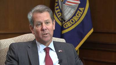Gov. Kemp speaks 1-on-1 with Channel 2 about rising COVID-19 numbers, criticism over election
