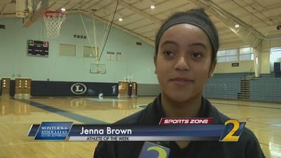 Lovett's Jenna Brown: Montlick & Associates Athlete of the Week