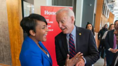 Atlanta mayor speaks openly about historic election, being on short list for VP