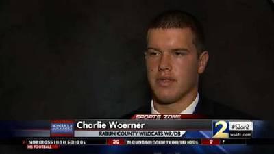 Charlie Woerner Montlick & Associates Athlete of the Week