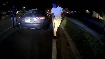 Bodycam video shows DUI arrest of man accused of killing 3 people hours earlier