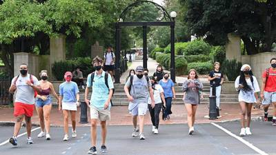 UGA reports 800+ COVID-19 cases on campus, expert says real number could be more than 3 times that