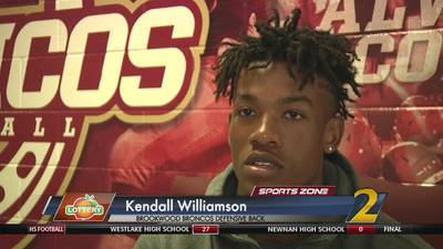 Brookwood's Kendall Williamson: Georgia Lottery Scholar Athlete