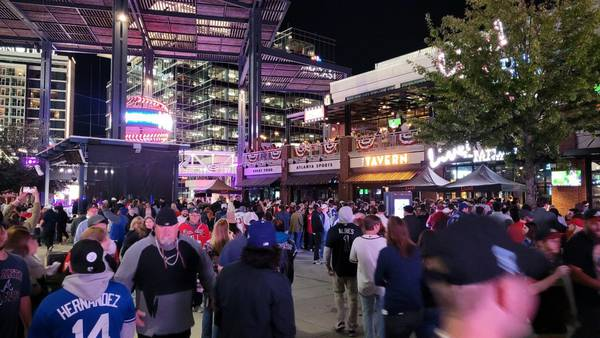 Businesses in The Battery say Braves World Series run is a win for them