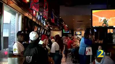 As Hawks keep winning, business booming for local restaurants