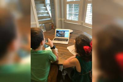 Parents find relief in online activities as kids forced to stay home over coronavirus