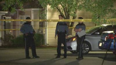 Police search for killer who gunned down man outside Gwinnett apartment unit