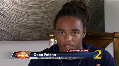 West Forsyth's Daba Fofana: Georgia Lottery Scholar Athlete