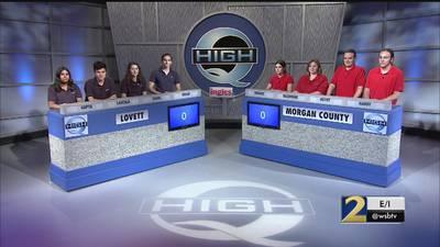 Lovett vs Morgan County Season 34 High Q 20-10
