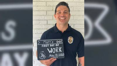 Officer Matt Cooper on returning to work: 'The Lord blessed me with a second chance'