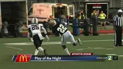 McDonald's Play of the Night: Season starts with pick 6