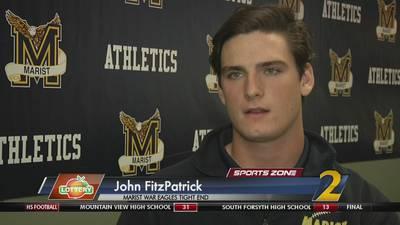 Marist's John FitzPatrick: Georgia Lottery Scholar Athlete
