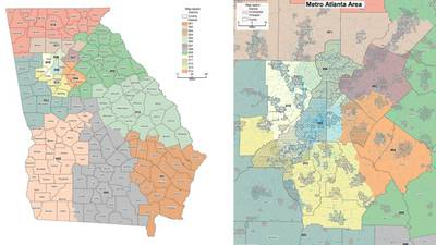 Democrats want even party split in latest congressional map proposal